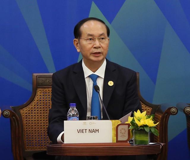 Đối thoại giữa Hội đồng tư vấn DN APEC và các nhà lãnh đạo kinh tế APEC - Ảnh 1.