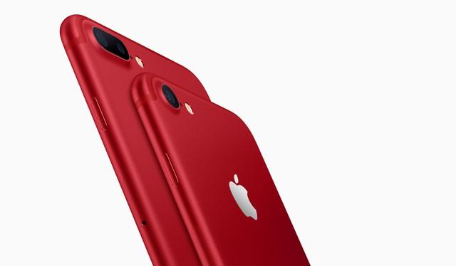 Apple bất ngờ trình làng iPhone 7 màu đỏ - Ảnh 1.