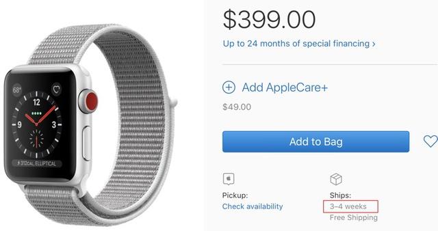 Apple Watch Series 3 LTE sẽ đến tay người dùng sớm hơn dự kiến - Ảnh 1.
