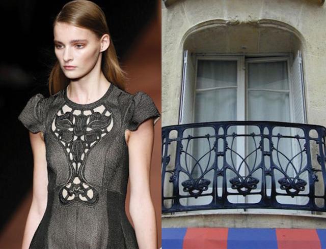 Những thiết kế thời trang siêu độc được thổi hồn từ kiến trúc - Ảnh 7.