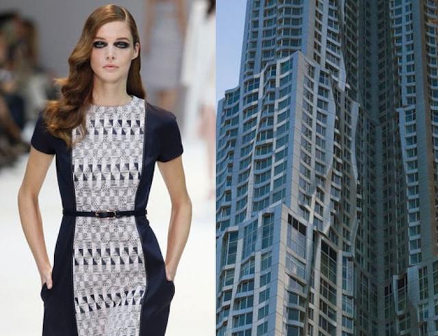 Những thiết kế thời trang siêu độc được thổi hồn từ kiến trúc - Ảnh 6.