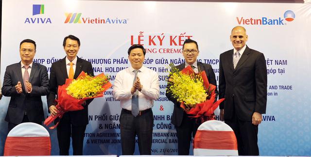 Aviva nắm giữ toàn bộ cổ phần của liên doanh tại Việt Nam - Ảnh 1.