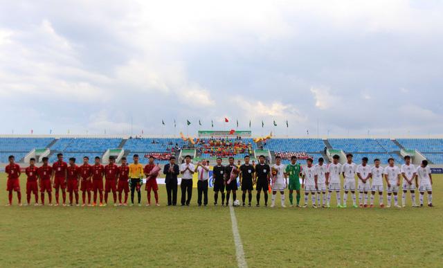 Ảnh: Những khoảnh khắc trận U15 Việt Nam thắng 5-2 U15 Đài Bắc Trung Hoa - Ảnh 1.