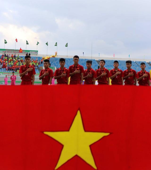 Ảnh: Những khoảnh khắc trận U15 Việt Nam thắng 5-2 U15 Đài Bắc Trung Hoa - Ảnh 3.
