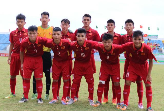 Ảnh: Những khoảnh khắc trận U15 Việt Nam thắng 5-2 U15 Đài Bắc Trung Hoa - Ảnh 4.