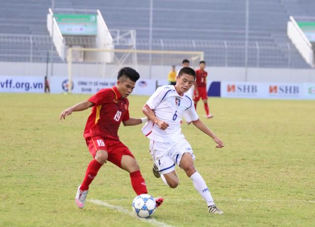 Ảnh: Những khoảnh khắc trận U15 Việt Nam thắng 5-2 U15 Đài Bắc Trung Hoa - Ảnh 9.