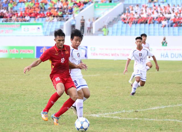 Ảnh: Những khoảnh khắc trận U15 Việt Nam thắng 5-2 U15 Đài Bắc Trung Hoa - Ảnh 8.