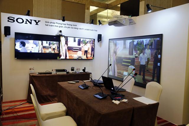 Sony ra mắt giải pháp truyền thông và phòng họp thông minh cho doanh nghiệp - Ảnh 2.