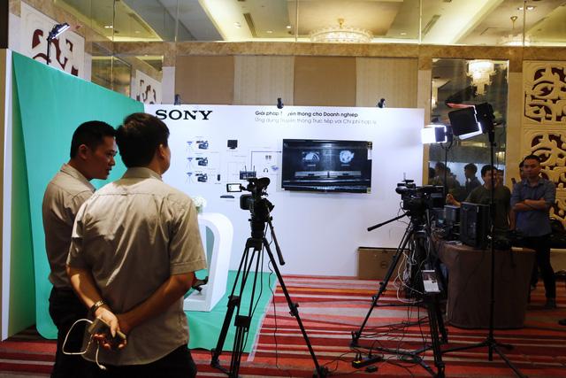 Sony ra mắt giải pháp truyền thông và phòng họp thông minh cho doanh nghiệp - Ảnh 4.