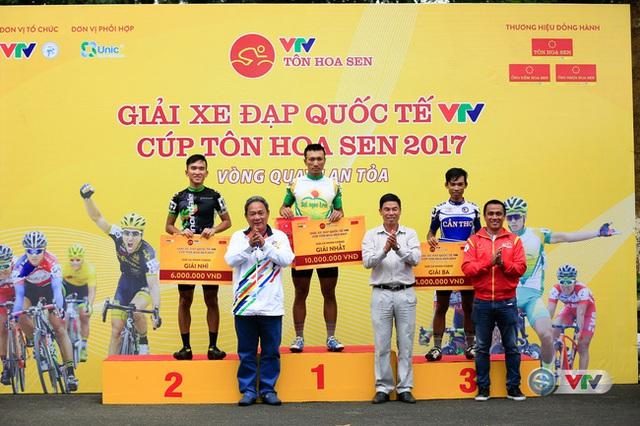 Kết quả chi tiết giải xe đạp quốc tế VTV Cúp Tôn Hoa Sen 2017: Nguyễn Thành Tâm thắng chặng 13, Jiung Jang tiếp tục giữ áo vàng - Ảnh 1.