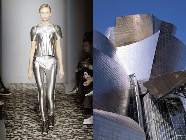 Những thiết kế thời trang siêu độc được thổi hồn từ kiến trúc - Ảnh 9.