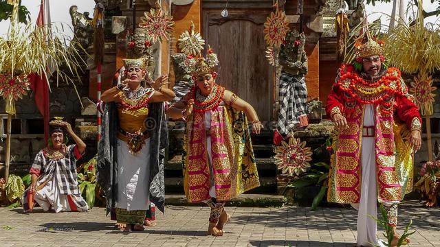 Indonesia bảo tồn múa cổ truyền Barong - Ảnh 1.