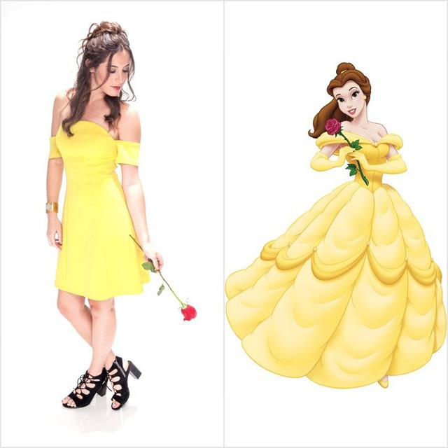 Mượn hình tượng công chúa Disney để có trang phục dạ tiệc nổi bật - Ảnh 3.