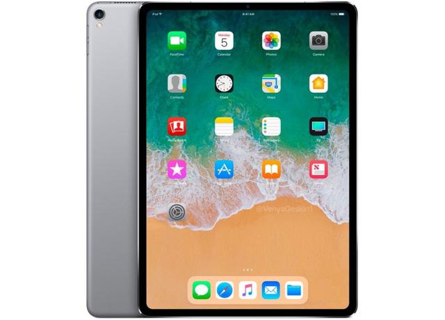 Đẹp lung linh mẫu iPad viền mỏng, không nút Home - Ảnh 1.