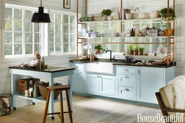 Những ý tưởng không thể bỏ qua cho gian bếp nhỏ hẹp - Ảnh 7.
