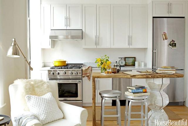 Những ý tưởng không thể bỏ qua cho gian bếp nhỏ hẹp - Ảnh 9.