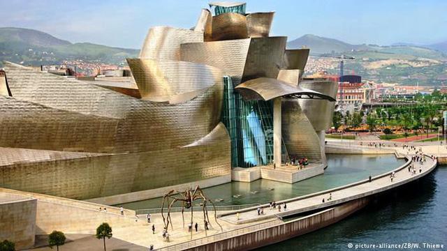 Bảo tàng Bilbao với thiết kế ấn tượng tại Tây Ban Nha - Ảnh 3.
