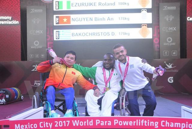 Việt Nam giành thêm huy chương tại Giải vô địch cử tạ người khuyết tật - Ảnh 1.