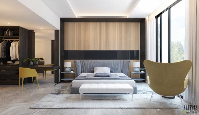 Những gợi ý cho phòng ngủ vừa sang trọng vừa hiện đại với nội thất bằng gỗ - Ảnh 17.
