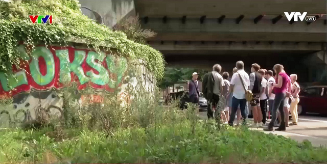 Giải mã những hình vẽ trên tường ở Brussels, Bỉ - Ảnh 1.