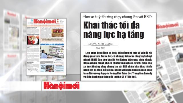 Tranh cãi về hiệu quả của xe bus nhanh BRT Hà Nội: Chưa có hồi kết - Ảnh 1.
