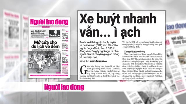 Tranh cãi về hiệu quả của xe bus nhanh BRT Hà Nội: Chưa có hồi kết - Ảnh 2.