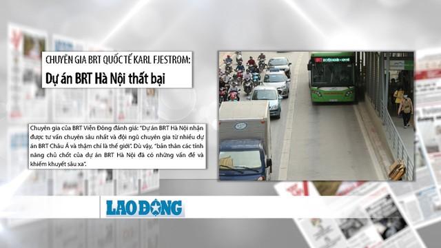 Tranh cãi về hiệu quả của xe bus nhanh BRT Hà Nội: Chưa có hồi kết - Ảnh 3.