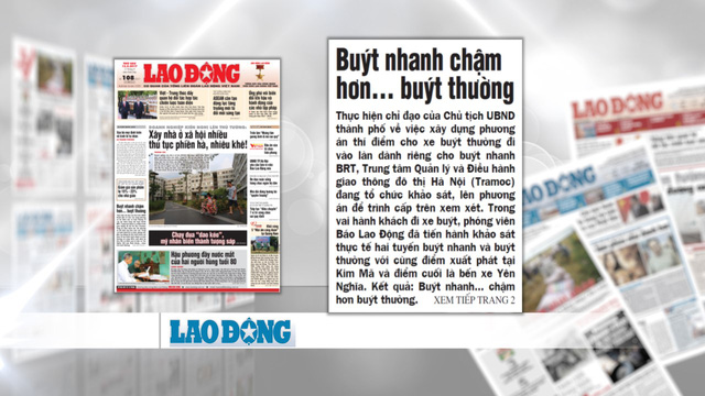 Tranh cãi về hiệu quả của xe bus nhanh BRT Hà Nội: Chưa có hồi kết - Ảnh 4.