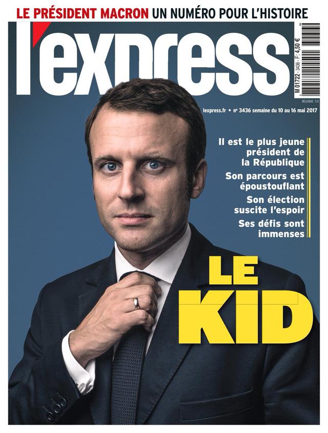 Chiến thắng của tân Tổng thống Pháp tràn ngập trang nhất báo chí châu Âu - Ảnh 9.