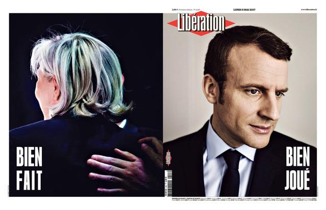 Chiến thắng của tân Tổng thống Pháp tràn ngập trang nhất báo chí châu Âu - Ảnh 2.