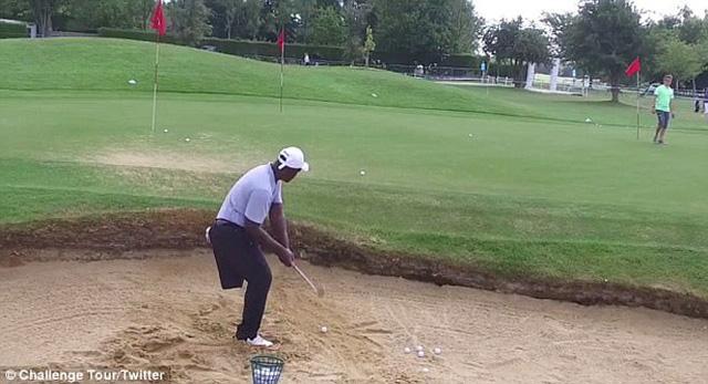 Nghị lực của golf thủ 1 chân Manuel De Los Santos - Ảnh 2.
