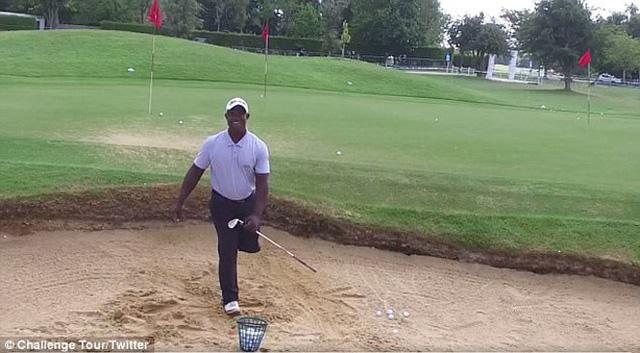 Nghị lực của golf thủ 1 chân Manuel De Los Santos - Ảnh 3.