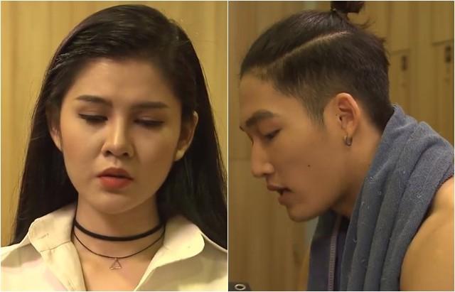 Ghét thì yêu thôi - Tập 27: Kim vô tình bắt gặp Trang thân mật với Du - Ảnh 1.