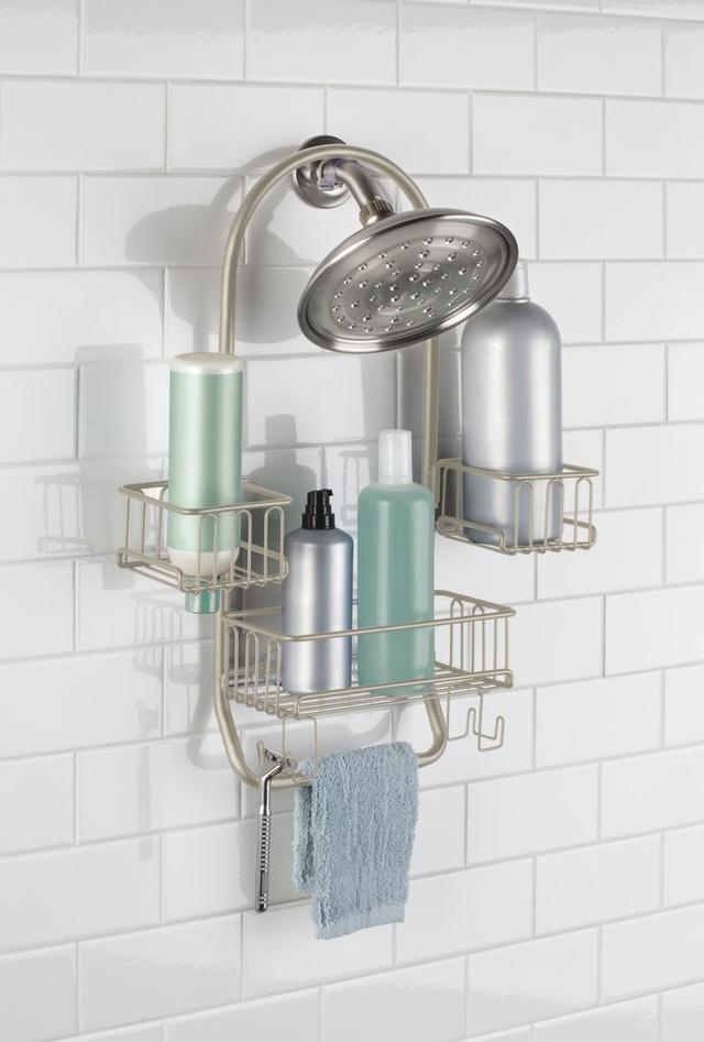 Những vật dụng giúp tiết kiệm không gian trong phòng tắm nhỏ - Ảnh 14.