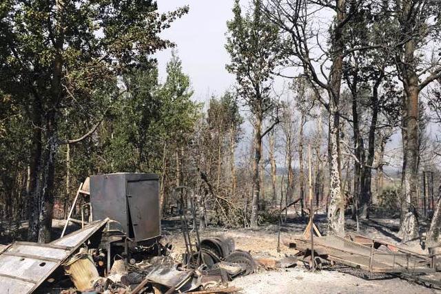 Cháy rừng bùng phát dữ dội ở Canada - Ảnh 1.