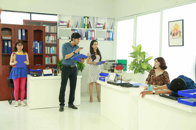 Xin chào ông chủ - phim truyền hình dài hơi thứ 2 Việt Nam - Ảnh 1.