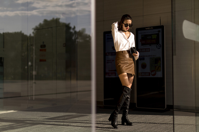 Xuống phố chất lừ như dàn người mẫu Vietnams Next Top Model - Ảnh 2.