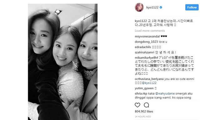 Song Hye Kyo khoe tình bạn đáng ngưỡng mộ - Ảnh 1.