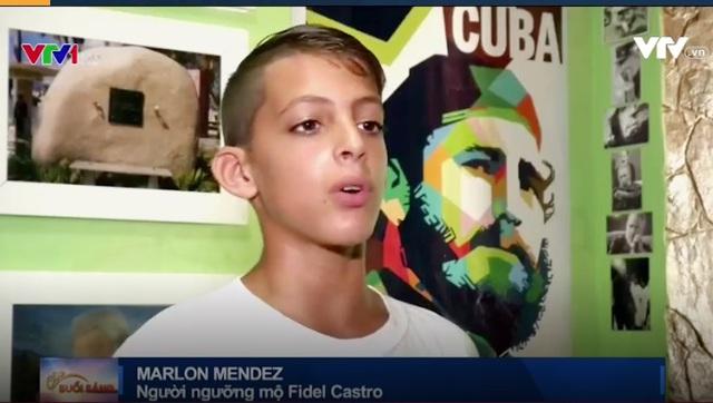 Tấm lòng của cậu bé 11 tuổi với cố Chủ tịch Fidel Castro - ảnh 1
