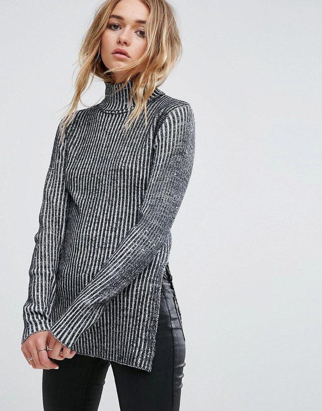 Xu hướng áo len chất lừ và nổi bật trong mùa Thu - Đông 2017 - Ảnh 14.