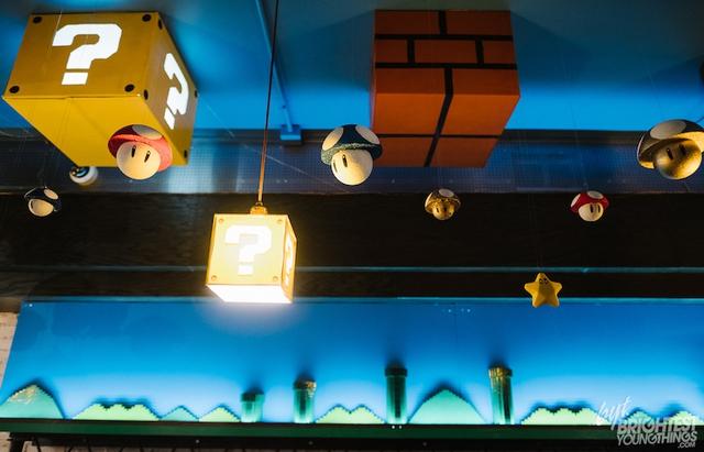 Các fan của Super Mario chắc chắn sẽ thích mê quán bar này! - Ảnh 1.