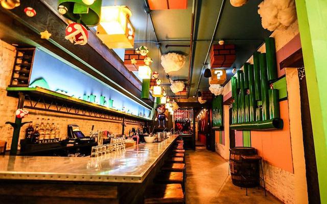 Các fan của Super Mario chắc chắn sẽ thích mê quán bar này! - Ảnh 8.