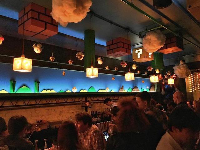 Các fan của Super Mario chắc chắn sẽ thích mê quán bar này! - Ảnh 5.