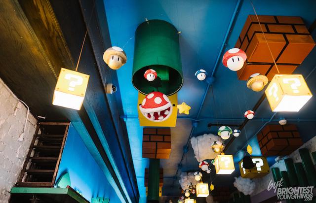 Các fan của Super Mario chắc chắn sẽ thích mê quán bar này! - Ảnh 2.