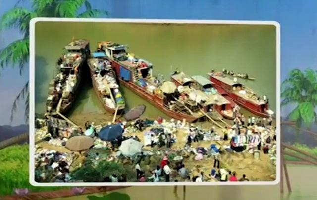 Sắc Xuân ở phiên chợ ven sông Đà - Ảnh 1.