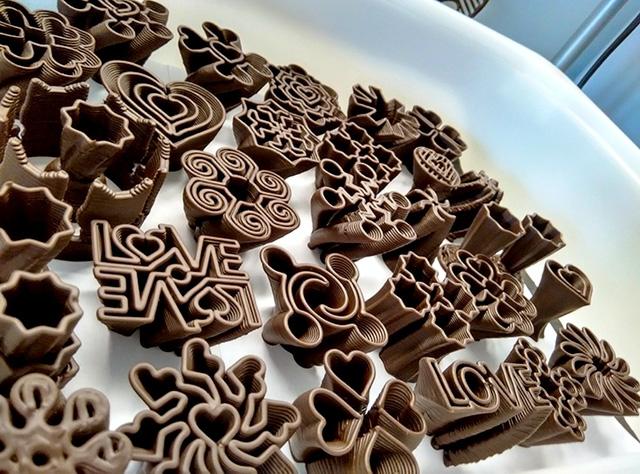 Chocolate in 3D - Thêm một lựa chọn cho lễ Phục sinh - Ảnh 1.