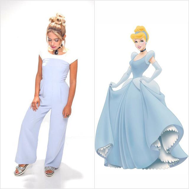 Mượn hình tượng công chúa Disney để có trang phục dạ tiệc nổi bật - Ảnh 4.