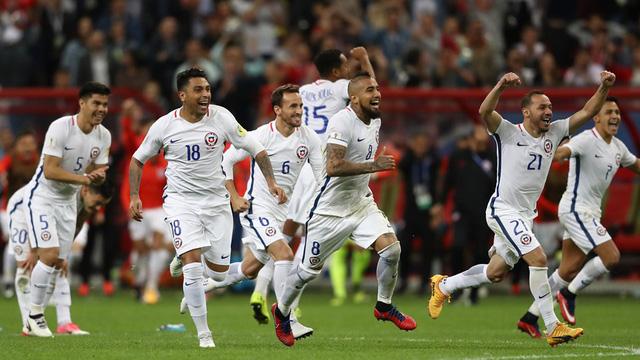 Cúp liên đoàn các châu lục 2017: ĐT Chile vào chung kết sau loạt luân lưu - Ảnh 5.