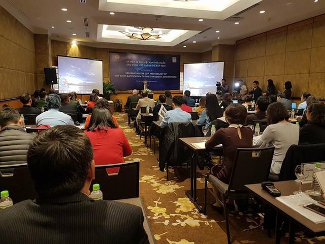 Việt Nam đóng vai trò quan trọng thúc đẩy tôn trọng luật nhân đạo quốc tế - Ảnh 2.