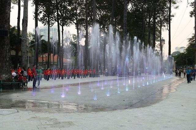 TP.HCM: Cải tạo công viên Văn Lang thành quảng trường nhạc nước hiện đại - ảnh 1